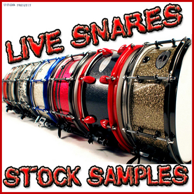 Product picture Acoustic Live Snare drum pop glam rock heavy metal grunge