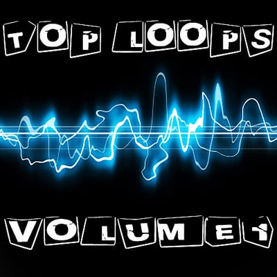 Product picture top loops VOL1 Electro deep house minimal tech disco ableton live 8 9