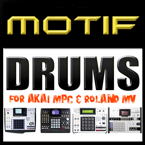 Product picture Yamaha Motif Drum beat Akai MPC STUDIO renaissance Roland MV
