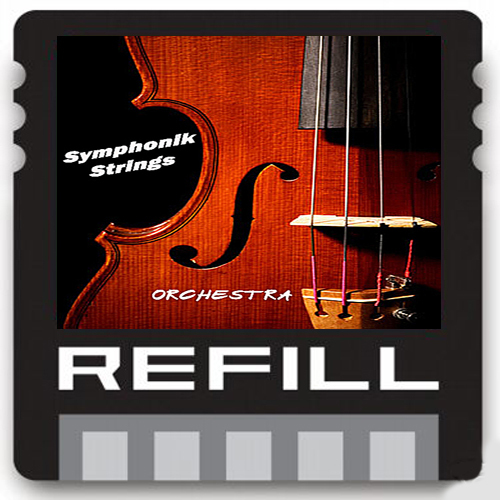 Product picture symphonic strings orchestra violons viola REASON refills RFL